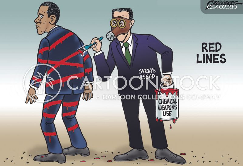 chemical attack cartoon