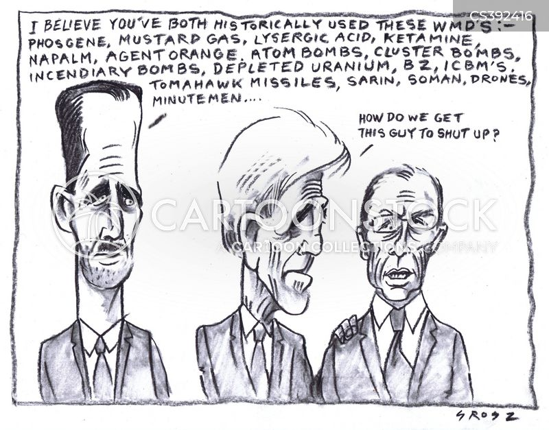 syria civil war cartoon