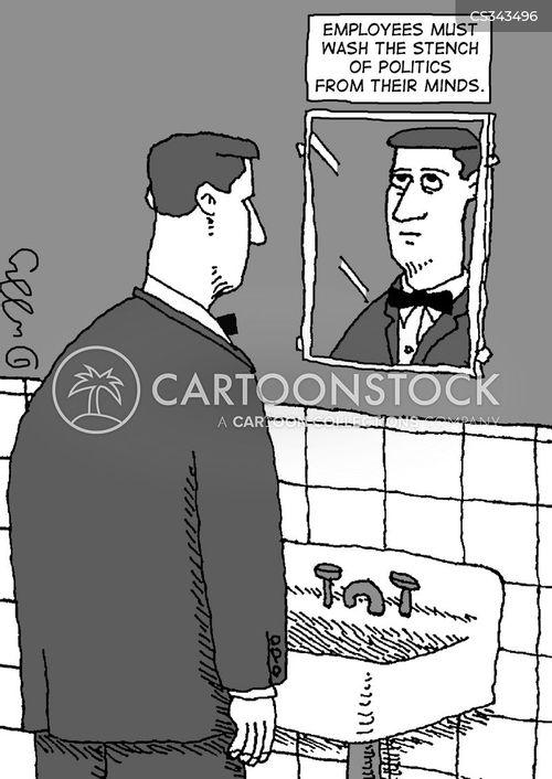 hand washer cartoon