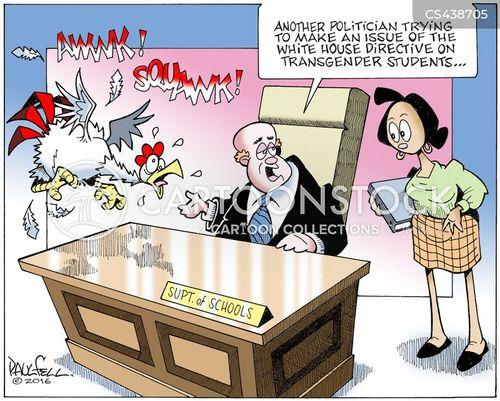 trans cartoon