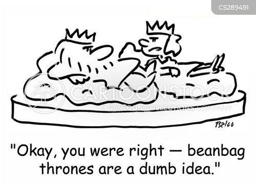 beanbags cartoon