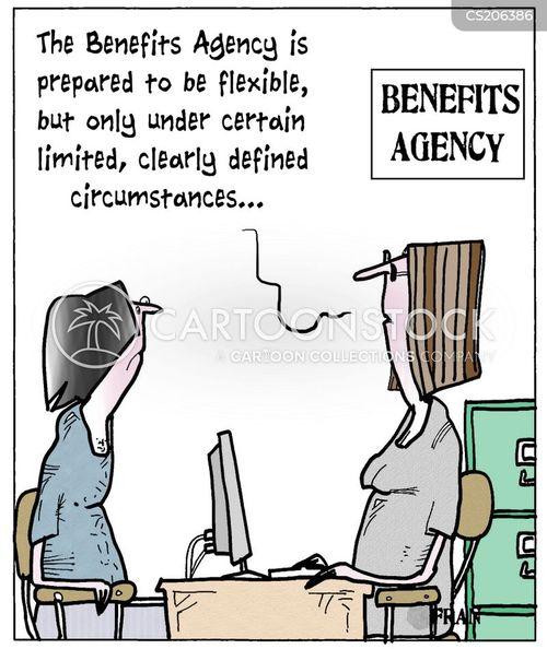benefits agency cartoon