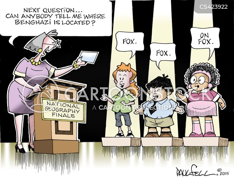 geography quiz cartoon