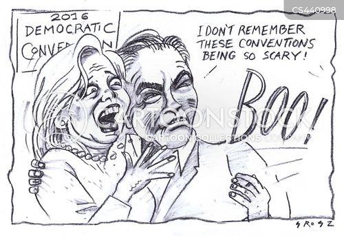 democratic national convention cartoon