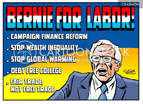 labor rights cartoon