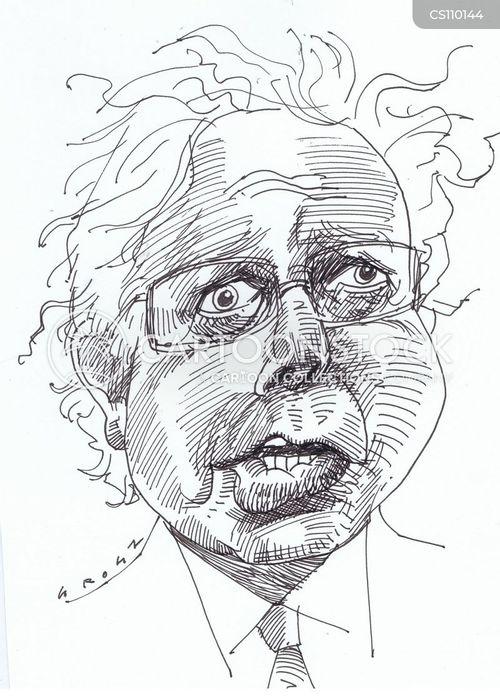 democratic candidate cartoon
