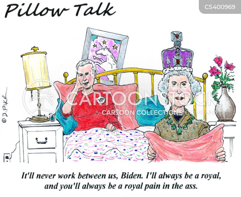 special relationship cartoon