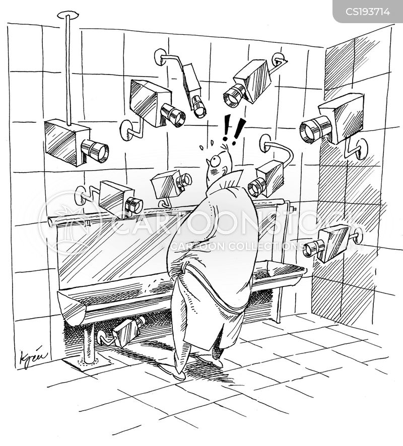 surveillance camera cartoon