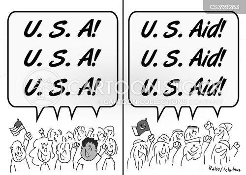 front lines cartoon