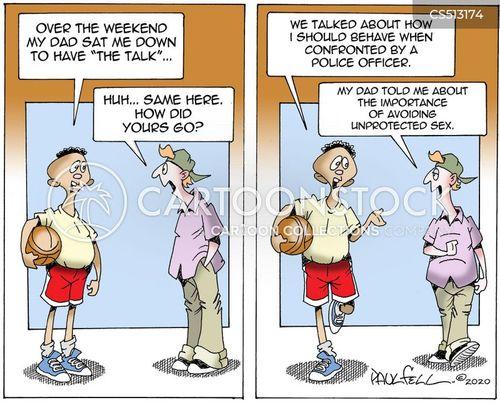 police killings cartoon