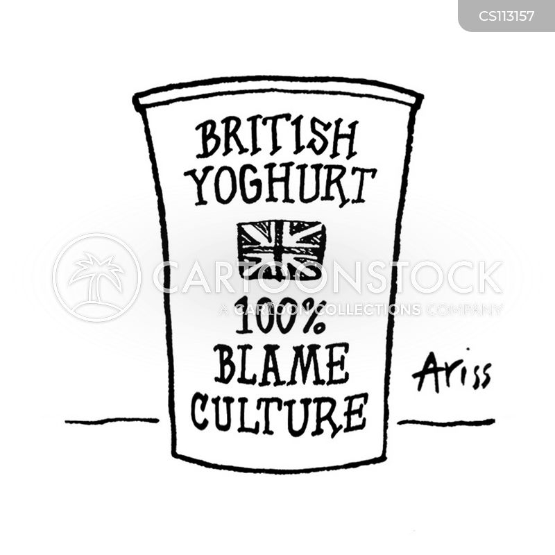 blame cultures cartoon