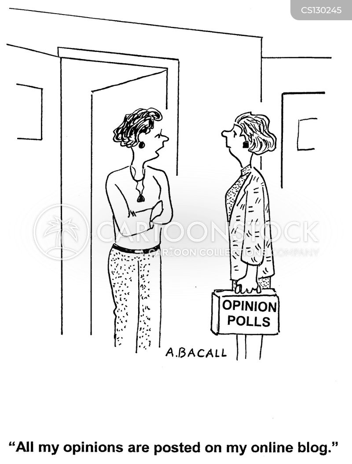 online blog cartoon