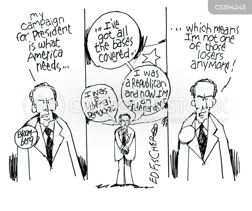 michael bloomberg cartoon