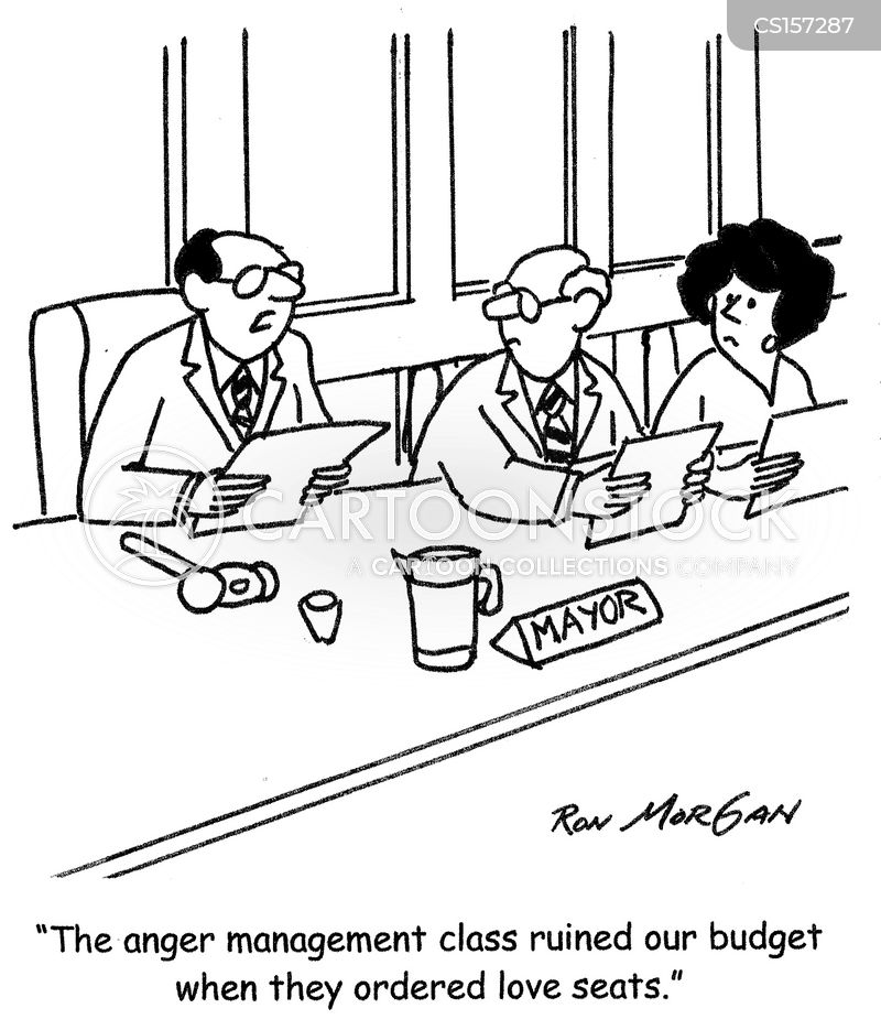 city budgets cartoon