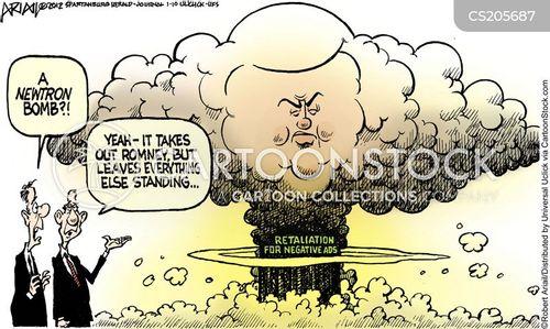 politics and the media cartoon