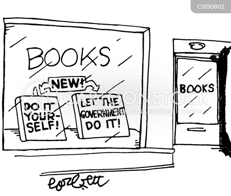 How to books cartoons and comics funny pictures from cartoonstock book store do it yourself and let the government do it solutioingenieria Image collections