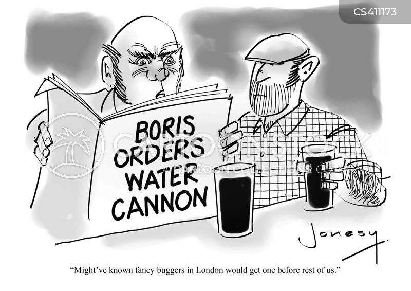 city hall of london cartoon