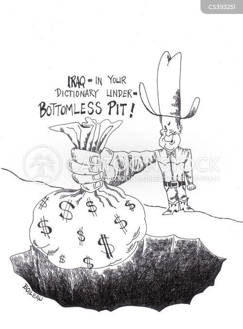 bottomless pit cartoon