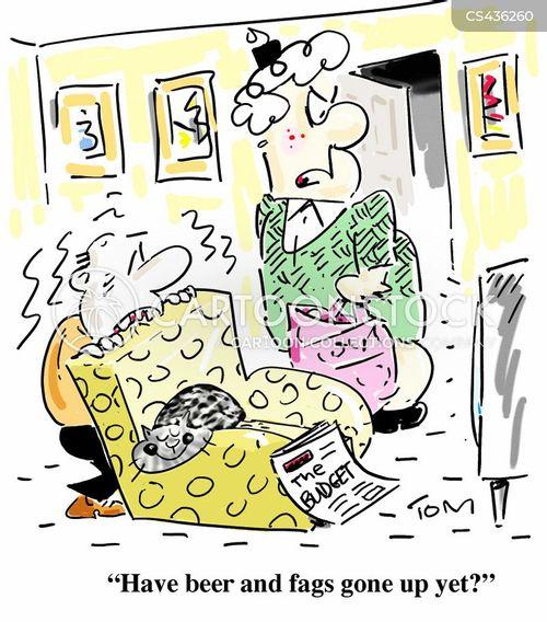 cigarette tax cartoon