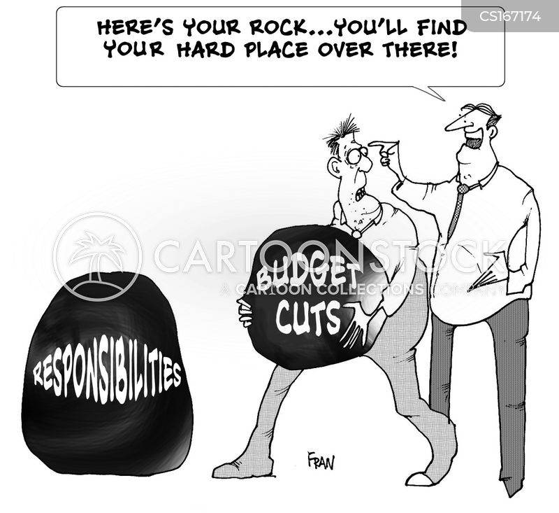 deficit cartoon
