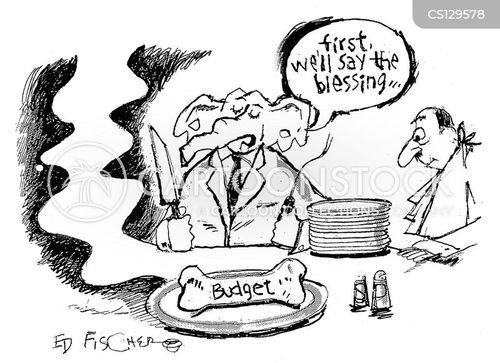 trump budget cartoon