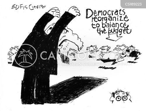 reorganisation cartoon