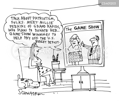 american debt cartoon