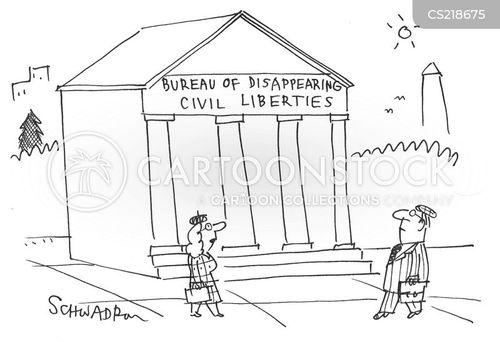 civil liberties cartoon