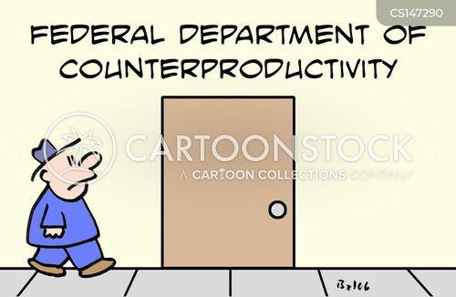 counter-productive cartoon