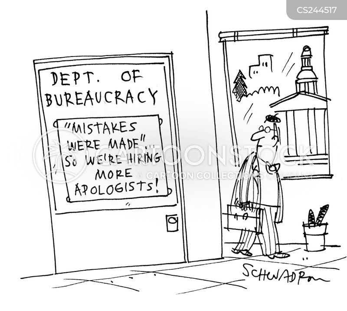 public apology cartoon