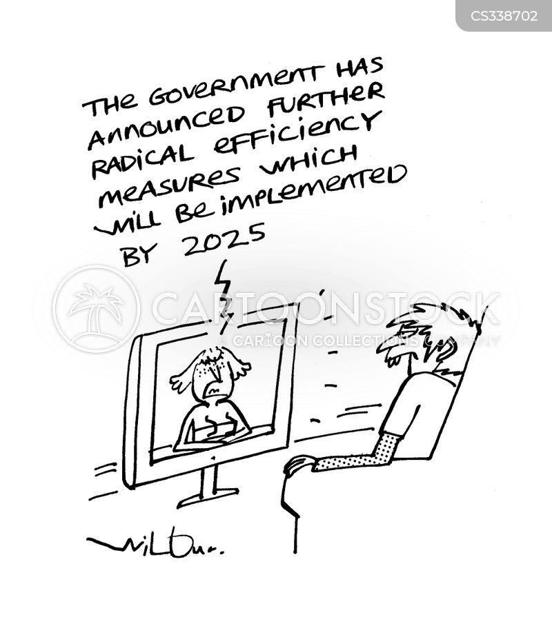 efficiency consultants cartoon