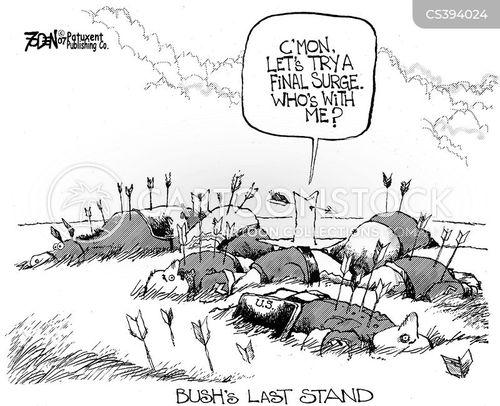 last stand cartoon