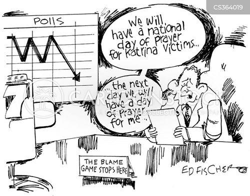 political disaster cartoon