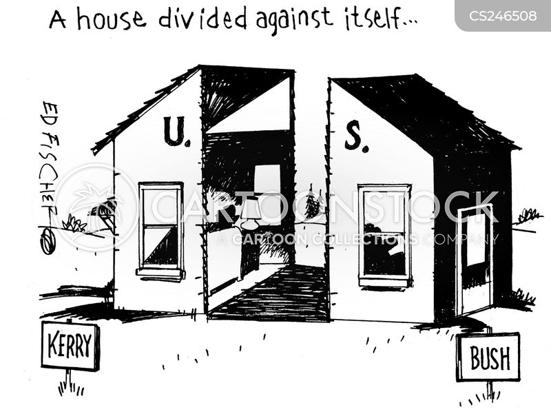 A House Divided Cartoon 1 Of 1