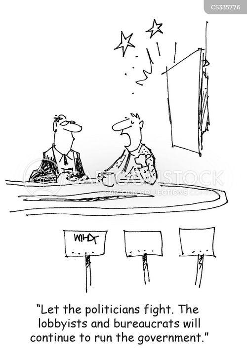 political culture cartoon