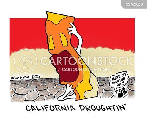 dry spell cartoon