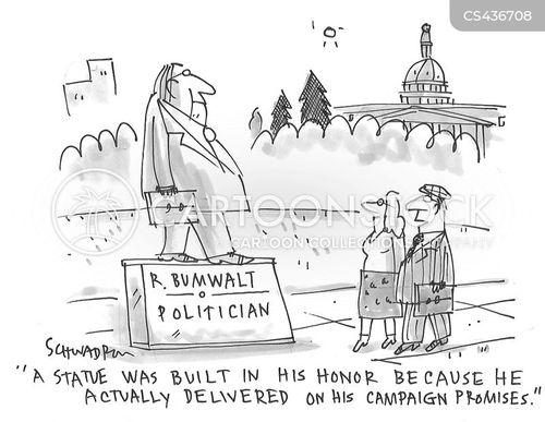 broken promises cartoon