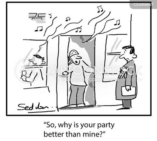 house-parties cartoon