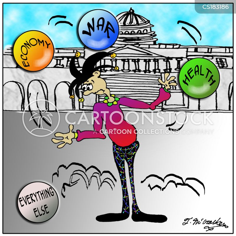 juggling cartoon
