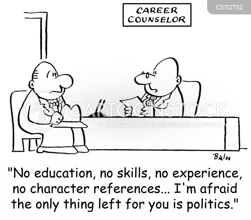 careers counsellor cartoon