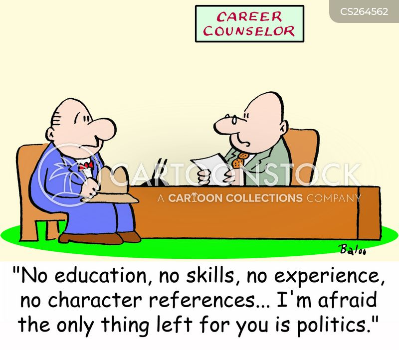 careers adviser cartoon