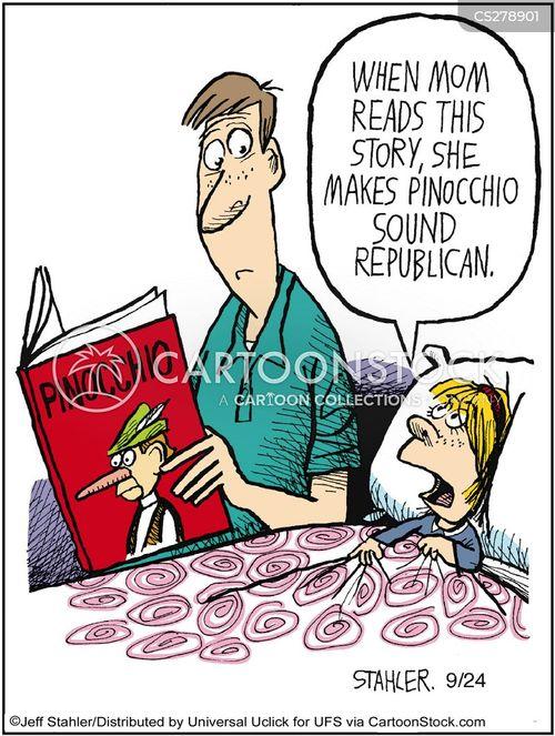 parental influence cartoon