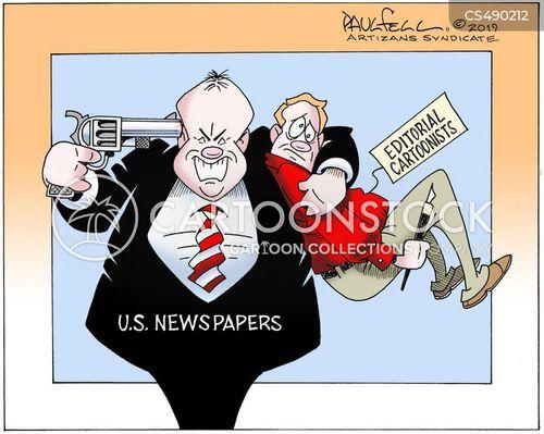 editorial news cartoon