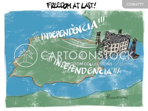 declaration of independence cartoon