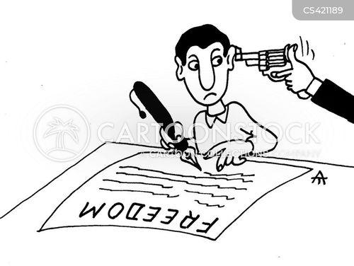 totalitarian state cartoon