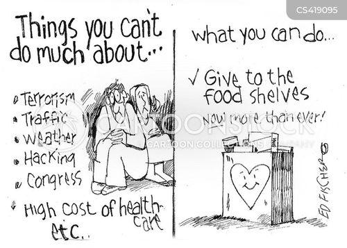 social consciences cartoon