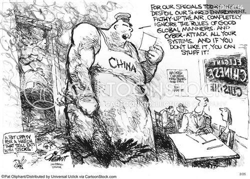 cyber attacks cartoon