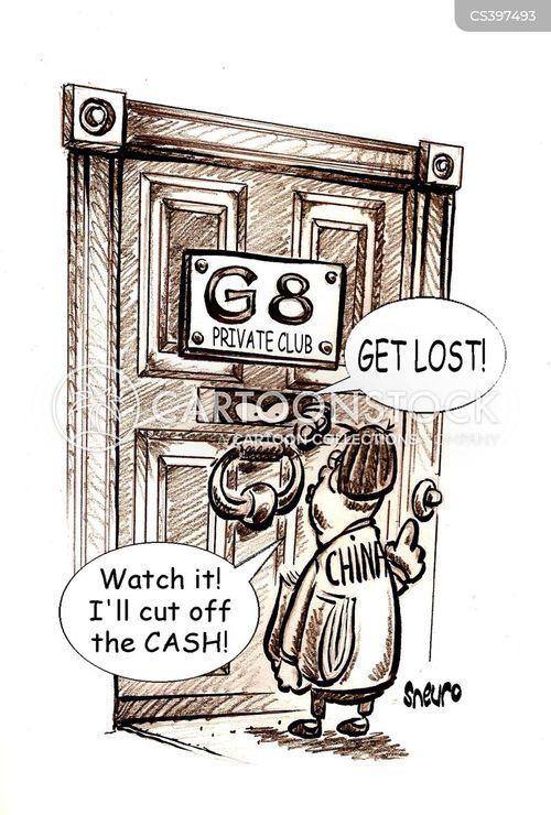 economic superpower cartoon