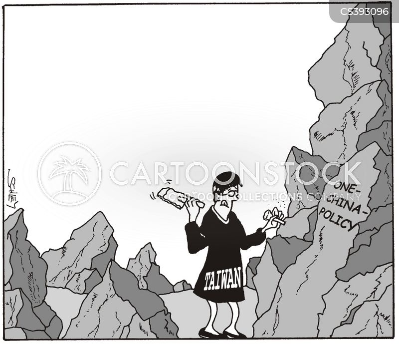 one-china policy cartoon
