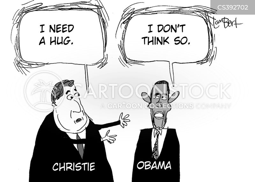 chris christie cartoon